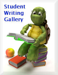 Turtle reading a book-Fotosearch image